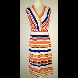 Merona Women's Multicolor Striped Dress